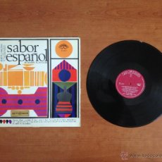 Discos de vinilo: MARTÍN CARRETERO - SABOR ESPAÑOL - SPANISH FLAVOUR (1965 ZAFIRO). Lote 46074947