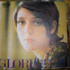Discos de vinilo: GLORIA. POR ESO TE QUIERO / POETA DE ANTAÑO. DEL XIII FESTIVAL DE BENIDORM. MOVIE PLAY 1971. IMPECAB. Lote 46081006
