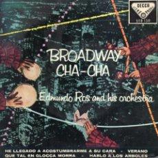 Discos de vinilo: EDMUNDO ROS Y SU ORQUESTA, EP, SUMMERTIME (DE PORGY Y BESS) - VERANO + 3, AÑO 1960. Lote 46093399