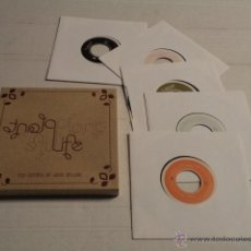 Discos de vinilo: PLANTLIFE – THE RETURN OF JACK SPLASH – CAJA CON 5 SINGLES – NUEVA A ESTRENAR. Lote 46094821