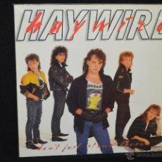 Discos de vinilo: HAYWIRE - DONT JUST STAND - LP. Lote 46095857