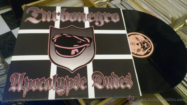 TURBONEGRO APOCALYPSE DUDES LP MANS RUIN RECORDS PUNK ROCK SIMILAR A HELLACOPTERS GLUECIFER ETC (Música - Discos - LP Vinilo - Punk - Hard Core)