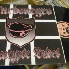 Discos de vinilo: TURBONEGRO APOCALYPSE DUDES LP MANS RUIN RECORDS PUNK ROCK SIMILAR A HELLACOPTERS GLUECIFER ETC. Lote 107520595