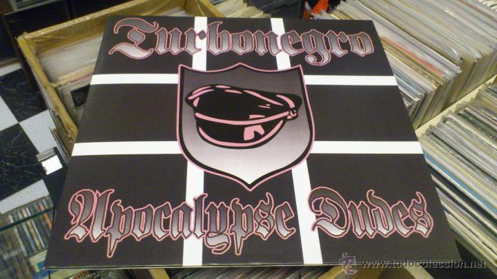 Discos de vinilo: Turbonegro Apocalypse Dudes lp Mans ruin records Punk Rock Similar a Hellacopters Gluecifer etc - Foto 4 - 107520595