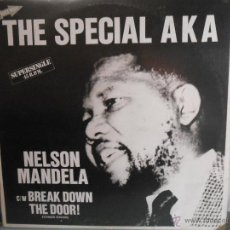 Disques de vinyle: THE SPECIAL AKA - NELSON MANDELA. Lote 155908545