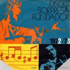 Discos de vinilo: . SINGLE DISCO SORPRESA FUNDADOR Nº10246 MIGUEL RIOS DAR AMOR UNITED . Lote 46101598