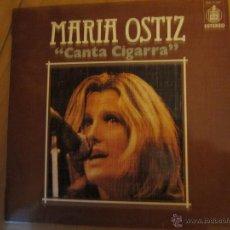 Discos de vinilo: MARIA OSTIZ- CANTA CIGARRA- HISPAVOX 1976. Lote 46102041