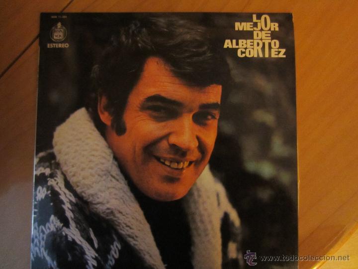 LO MEJOR DE ALBERTO CORTEZ- HISPAVOX 1973 (Música - Discos - LP Vinilo - Cantautores Extranjeros)