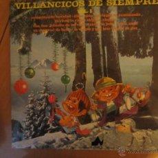 Discos de vinilo: VILLANCICOS DE SIEMPRE- VOLUMEN 1- NEVADA 1976. Lote 46104004