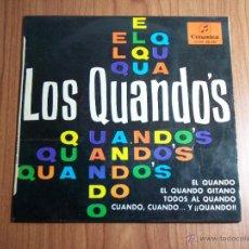 Discos de vinilo: LOS QUANDO'S (COLUMBIA - 1965) . Lote 46112011