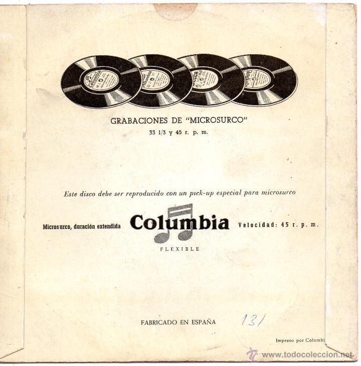 Discos de vinilo: LIONEL HAMPTON y su Orquesta, EP, HAMP´S BOOGIE WOOGIE + 1, AÑO 1959 - Foto 2 - 46116169