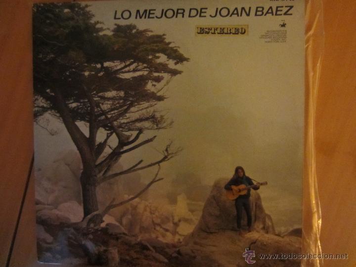 LO MEJOR DE JOAN BAEZ- HISPAVOX- 1965 (Música - Discos - LP Vinilo - Cantautores Internacionales)