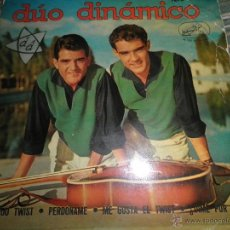 Discos de vinilo: DUO DINAMICO - BAILANDO TWIST EP - ORIGINAL ESPAÑOL - LA OZ DE SU AMO 1962 - MONOAURAL -. Lote 46116852