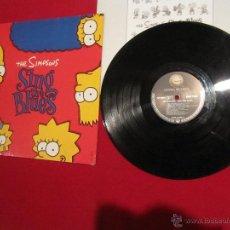 Discos de vinilo: LP VINILO - THE SIMPSONS SING THE BLUES (VARIOUS ARTISTS) (VG+ / EX). Lote 46119169