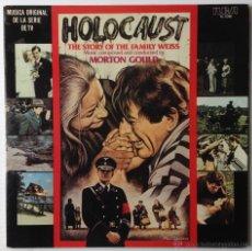 Discos de vinilo: HOLOCAUST. HOLOCAUSTO. MUSICA ORIGINAL DE LA SERIE DE TV. RCA, 1979. MUY BUEN ESTADO.. Lote 46119590