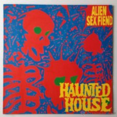Discos de vinilo: ALIEN SEX FIEND. HAUNTED HOUSE. ANAGRAM RECORDS, 1989. MINI LP.. Lote 46119946