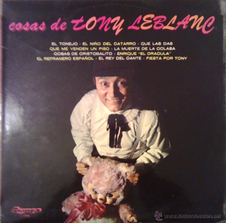 COSAS DE TONI LEBLANC 1974 OLYMPO L-240 (Música - Discos - LP Vinilo - Solistas Españoles de los 50 y 60)