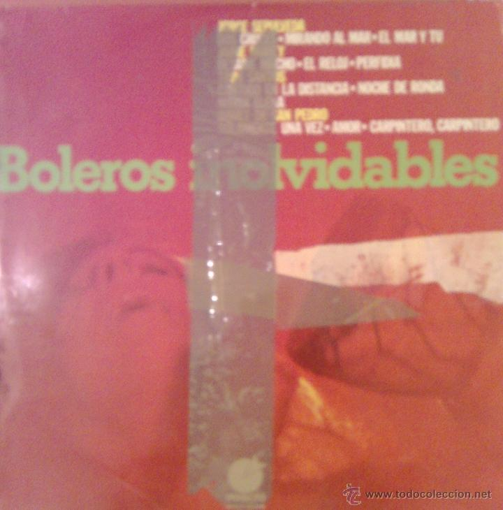 BOLEROS INOLVIDABLES 1975 IMPACTO EL-111 (Música - Discos - LP Vinilo - Solistas Españoles de los 50 y 60)