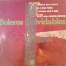 Discos de vinilo: BOLEROS INOLVIDABLES 1975 IMPACTO EL-111. Lote 46122174