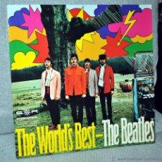 Discos de vinilo: THE BEATLES - LP VINILO 12'' - THE WORLD'S BEST - 16 TRACKS - EDITADO EN ALEMANIA. Lote 46122423
