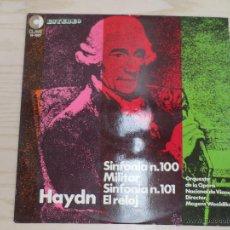 Discos de vinilo: HAYDN. ORQUESTA VIENA. Lote 46125324