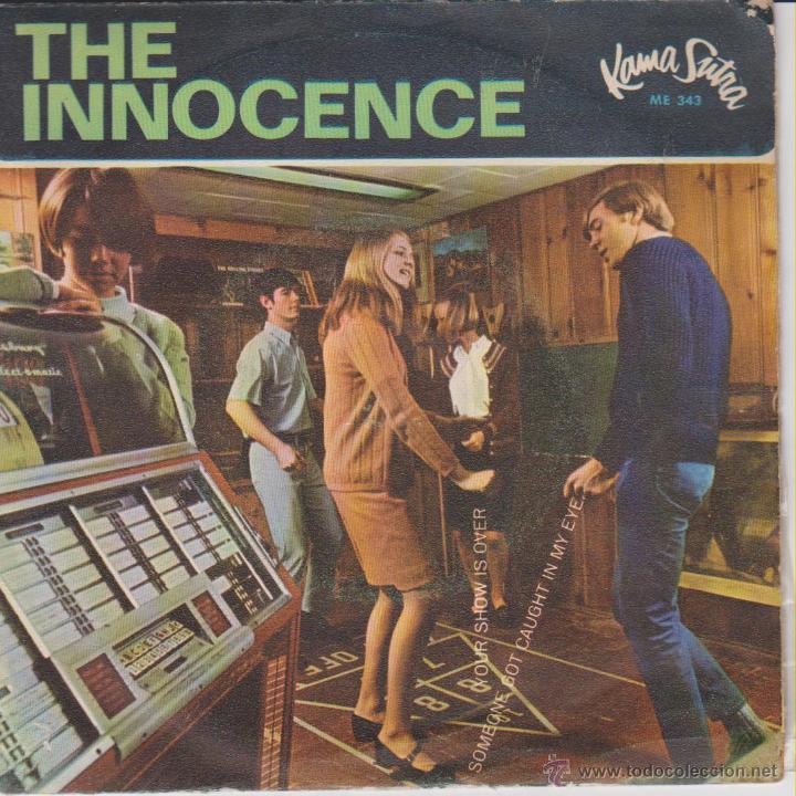 THE INNOCENCE - YOUR SHOW IS OVER - HAS TERMINADO + 2 - SG SPAIN 1967 VG++ / EX (Música - Discos de Vinilo - EPs - Pop - Rock Extranjero de los 50 y 60)