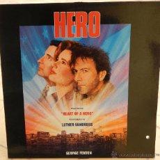 Discos de vinilo: LP VINILO - HEROE POR ACCIDENTE (HERO) (GEORGE FENTON) (VG+ / EX). Lote 46134116