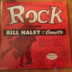 Discos de vinilo: ROCK WITH BILL HALEY AND THE COMETS. Lote 46135485