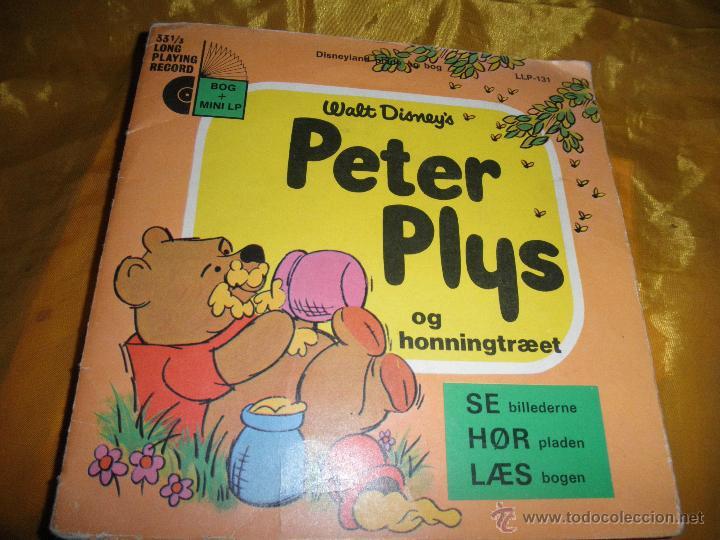 PETER PLYS (WINNIE THE POOH). WALT DISNEY´S. DISCO LIBRO. EDICION DANESA 1972 (Música - Discos - Singles Vinilo - Música Infantil)