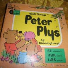 Discos de vinilo: PETER PLYS (WINNIE THE POOH). WALT DISNEY´S. DISCO LIBRO. EDICION DANESA 1972. Lote 46137584