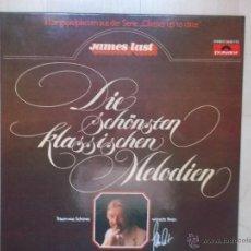 Discos de vinilo: JAMES LAST DIE SCHONSTEN KLASSISCHEN MELODIEN CAJA 3 LP NUEVOS ESTUCHE. Lote 46137590