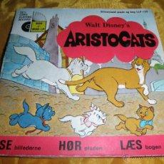 Discos de vinilo: ARISTOCATS. WALT DISNEY´S. DISCO LIBRO. EDICION DANESA 1972. Lote 46137648