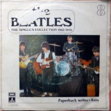 Discos de vinilo: BEATLES. PAPERBACK WRITER / RAIN. EMI-ODEON, ESP. 1972 SINGLE (COLLECTION 1962/70). Lote 46139129