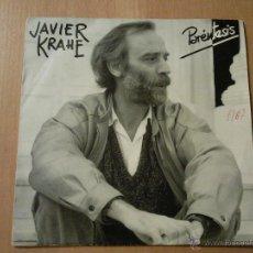 Discos de vinil: JAVIER KRAHE - PARENTESIS / ME INTERNARAN - PROMO. Lote 46139696