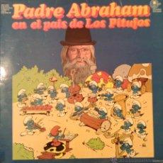 Discos de vinilo: PADRE ABRAHAM EN EL PAIS DE LOS PITUFOS 1978 CARNABY CPS 9595. Lote 46140241