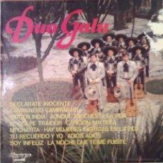 Discos de vinilo: DUO GALA 1975 OLYMPO L-276. Lote 46141222