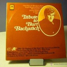 Discos de vinilo: TRIBUTE TO BURT BACHARACH (SERGIO MENDES, THE CARPENTERS, JIMMIE RODGERS...). Lote 46145659