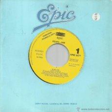 Discos de vinilo: PEARL JAM-ALIVE SINGLE VINILO 1991 PROMOCIONAL SIN PORTADA SPAIN. Lote 46146487