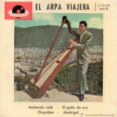 Discos de vinilo: HUGO BLANCO, - ARPA -, EP, MOLIENDO CAFE + 3, AÑO 1951. Lote 46147700