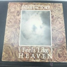 Discos de vinilo: FICTION FACTORY-FEELS LIKE-MAXI-1983. Lote 46150492