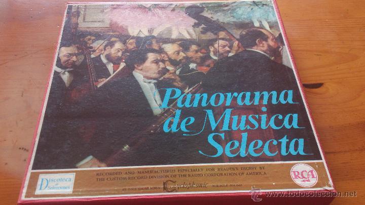 CAJA MUSICA CLASICA (Música - Discos - Singles Vinilo - Orquestas)