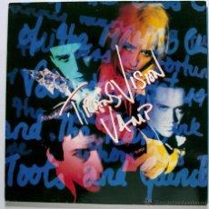 Discos de vinilo: LP TRANSVISION VAMP - THE LITTLE MAGNETS VERSUS - MCA 1991 CON ENCARTE M-/M- MUY BUEN ESTADO. Lote 46156364