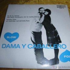 Discos de vinilo: DAMA Y CABALLERO. MUSICA PARA BAILAR. SLOW-FOX. MAX GREGER ORQUESTA. EP. ORLADOR 1965.IMPECABLE. Lote 46156546