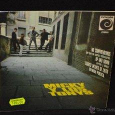 Discos de vinilo: MICKY Y LOS TONYS - NO COMPRENDEMOS PORQUE SOMOS MILLONARIOS + 3 - EP. Lote 46163409
