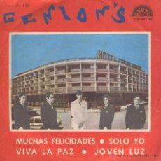 Discos de vinilo: GENION'S EP DISCOS BERTA.. Lote 46164275