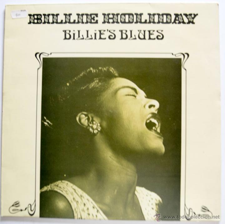 LP - BILLIE HOLIDAY - BILLIE'S BLUES - ASTAN MADE IN GERMANY 1984 VG++/M- MUY BUEN ESTADO (Música - Discos - LP Vinilo - Jazz, Jazz-Rock, Blues y R&B)
