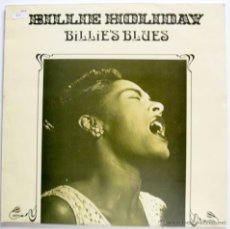Discos de vinilo: LP - BILLIE HOLIDAY - BILLIE'S BLUES - ASTAN MADE IN GERMANY 1984 VG++/M- MUY BUEN ESTADO. Lote 46166264