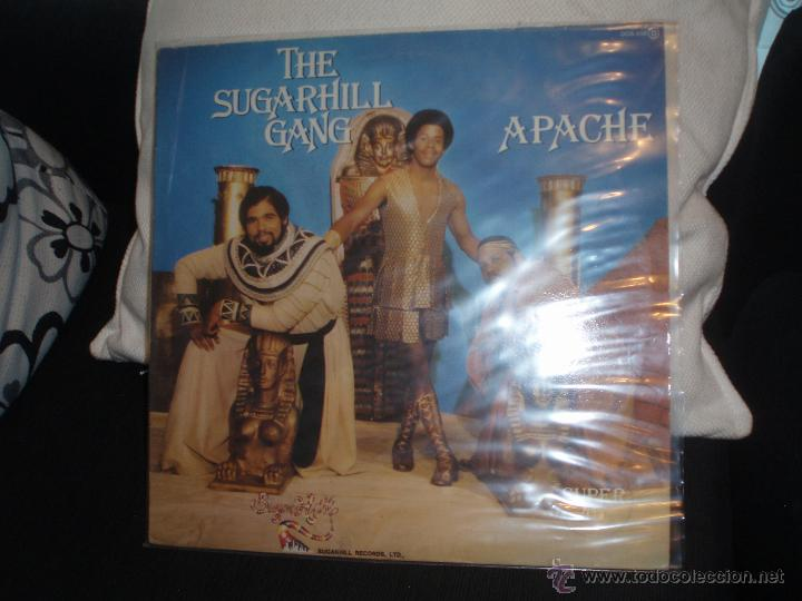 THE SUGARHILL GANG-APACHE, 8 TH WONDER.MAXI ZAFIRO (Música - Discos de Vinilo - Maxi Singles - Rap / Hip Hop)