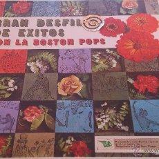 Discos de vinilo: GRAN DESFILE DE EXITOS CON LA BOSTON POPS. Lote 46167506