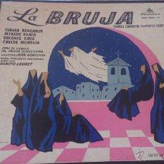 Discos de vinilo: LA BRUJA. Lote 46167903